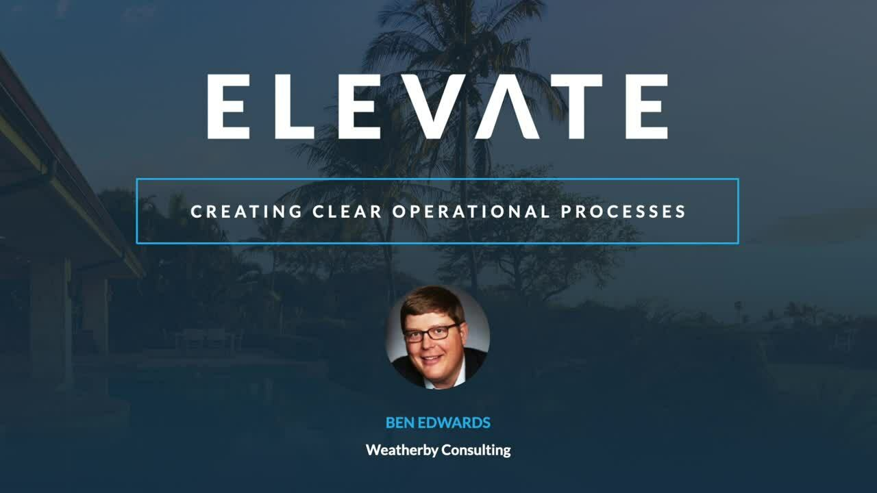 Creating Clear Operational Processes