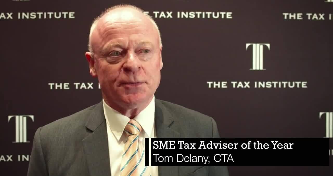 2019 SME Tax Adviser - Tom Delany, CTA