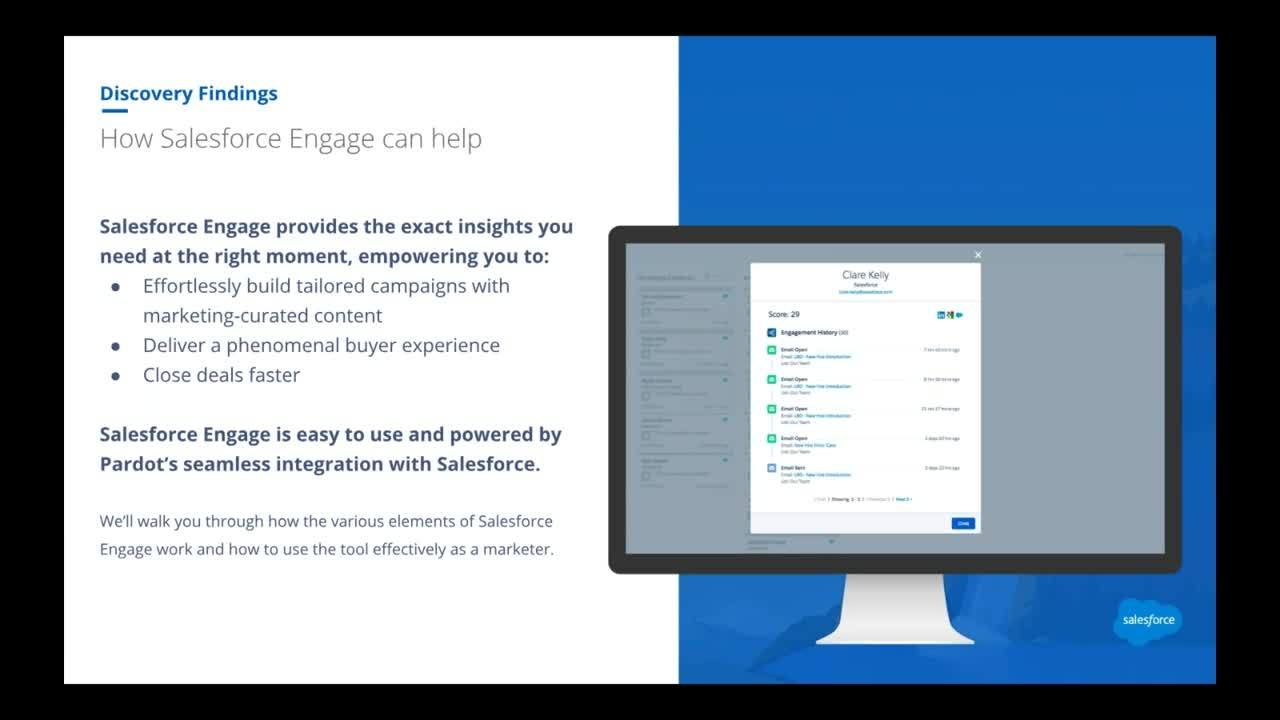 How to Use Salesforce Engage for Marketers - Pardot Office Hours