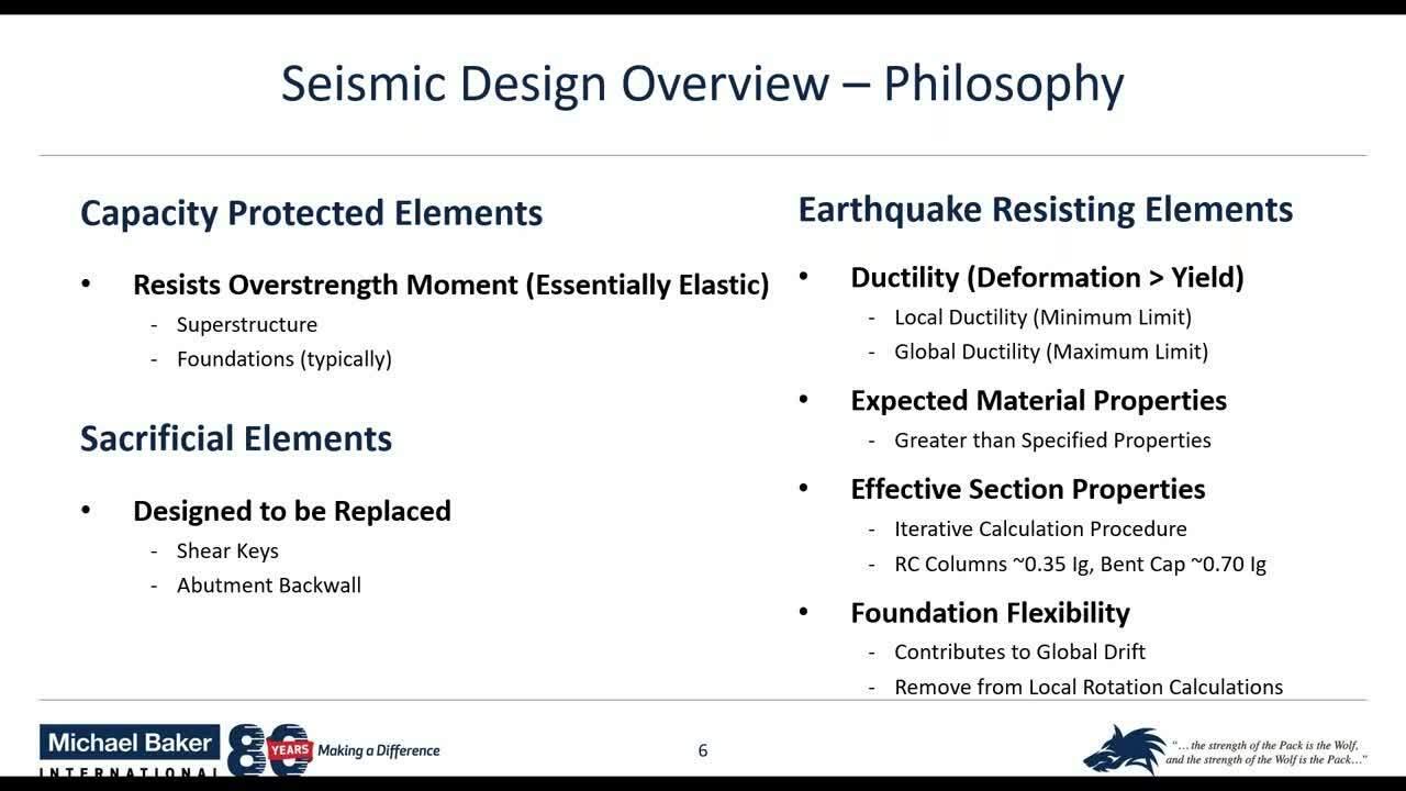Seismic Design of Concrete Bridges