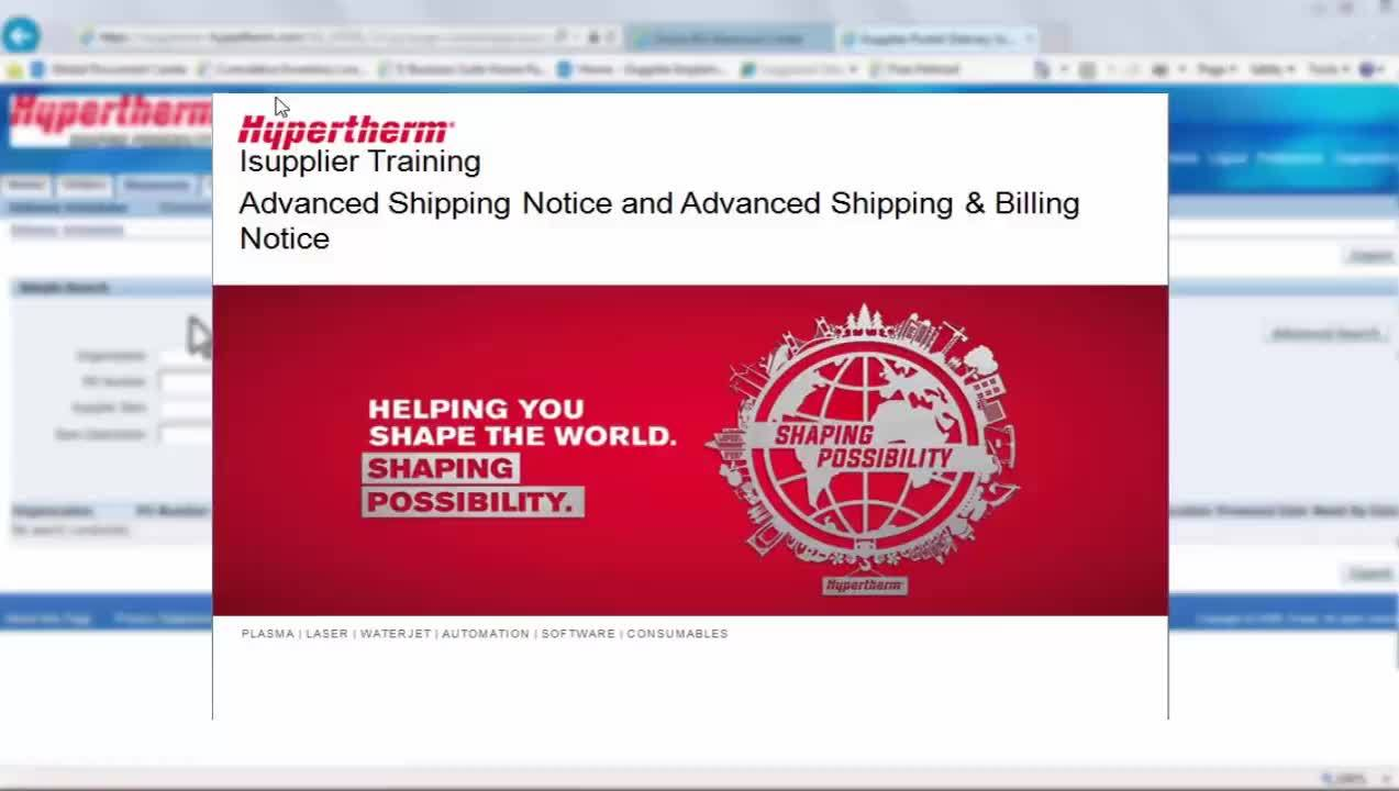 Shipping and billing