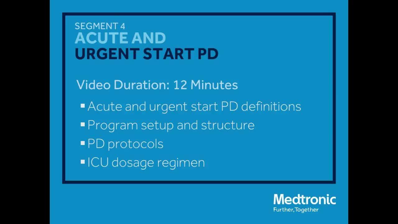 Segment 4: Peritoneal Dialysis Webinar with Dr. Micah Chan