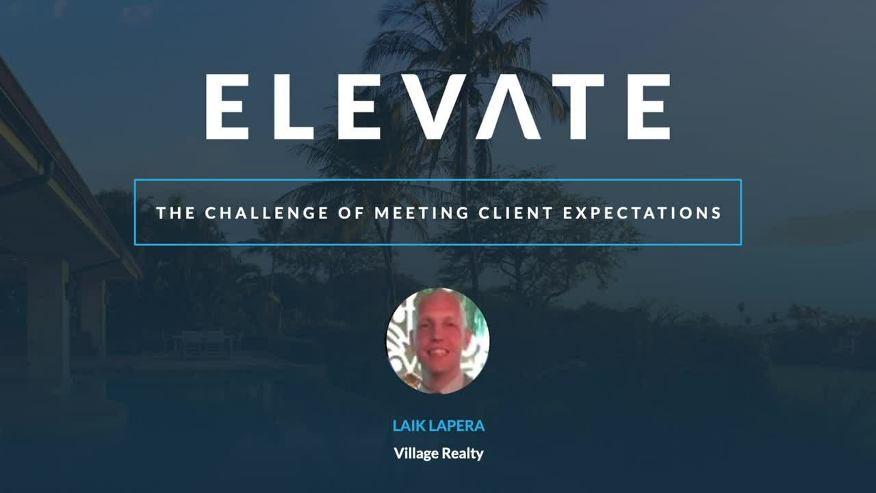 The Challenge of Meeting Client Expectations