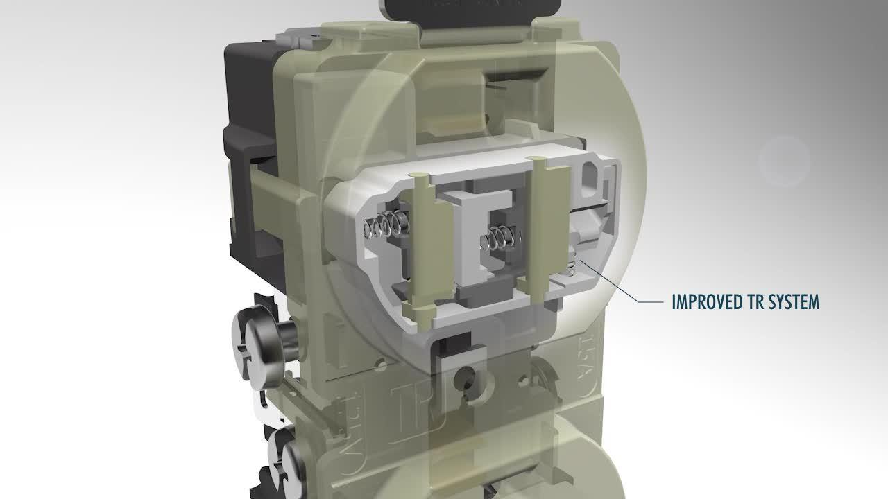 Wiring Device-Kellems- Tamper-Resistant Receptacle Mechanisms