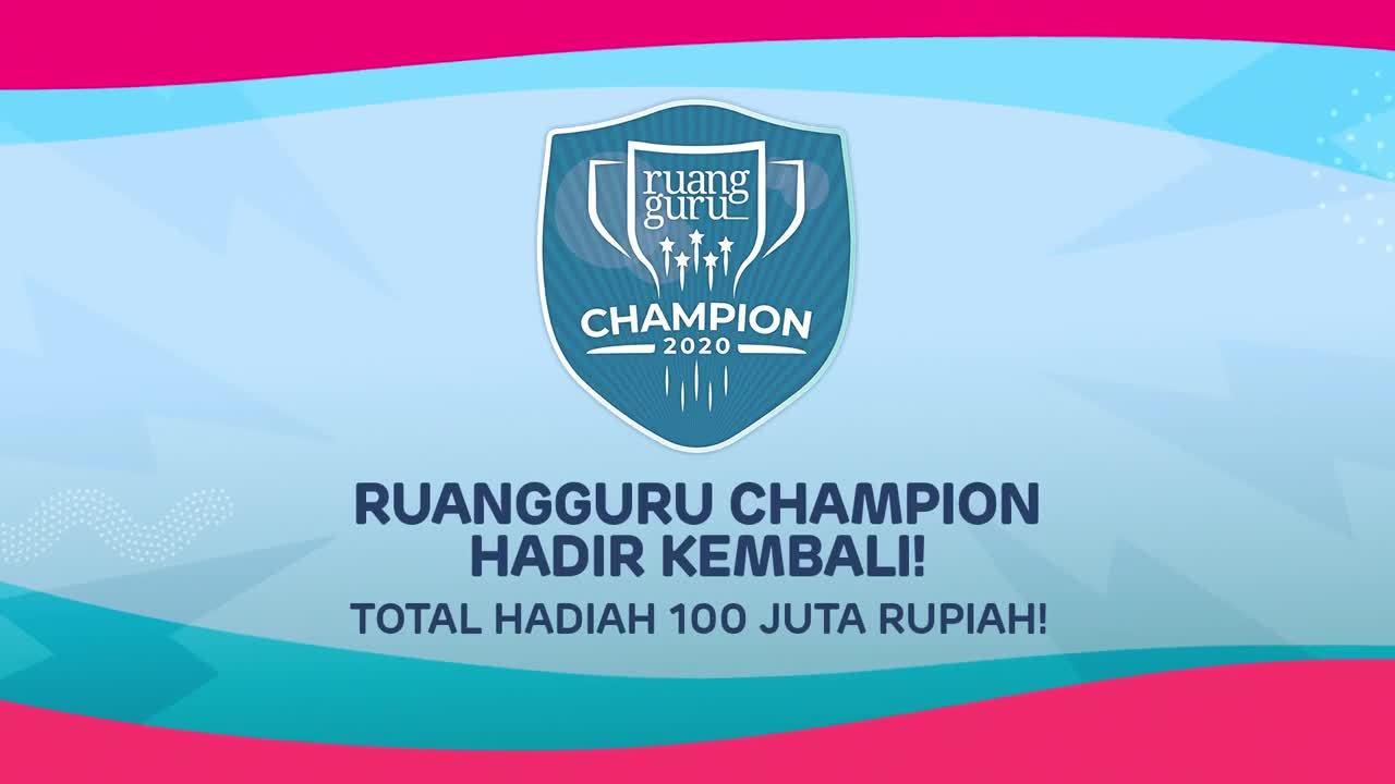 RG CHAMPION 2020 - OBB