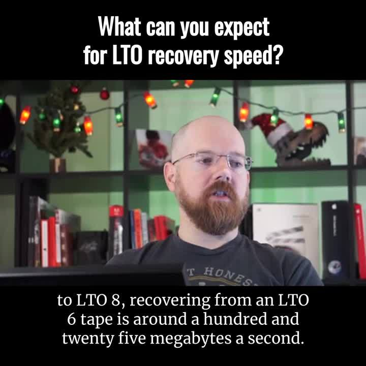 Brian - LTO Recovery Speed (Captioned by Zubtitle)