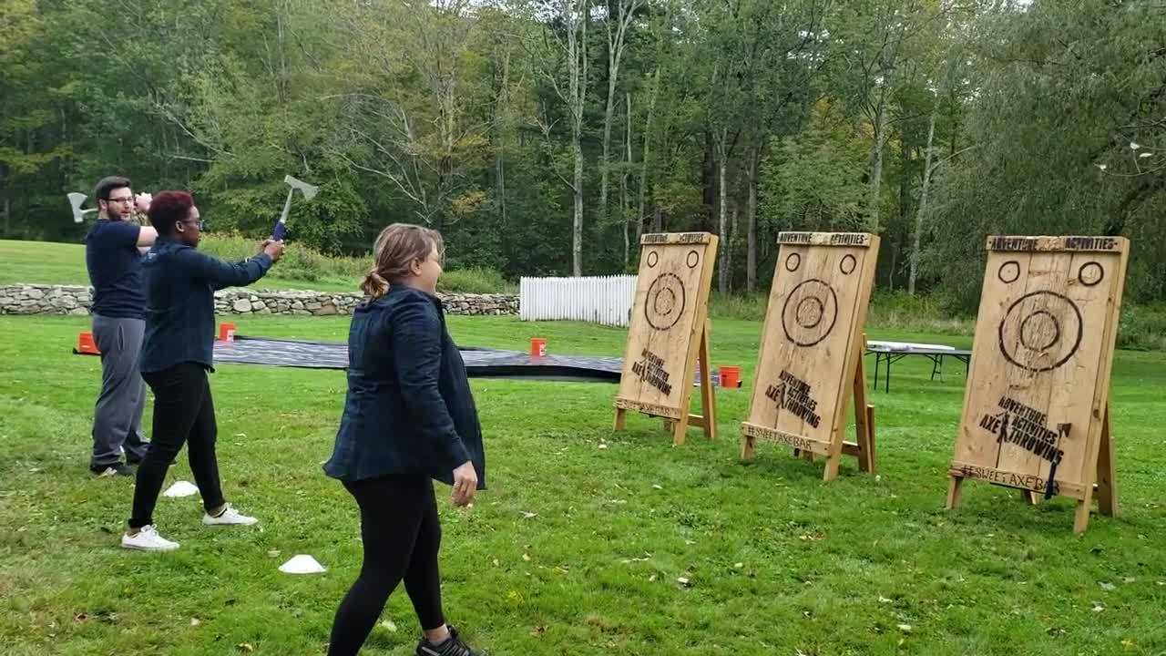 Retreat 18-Ax Throwing