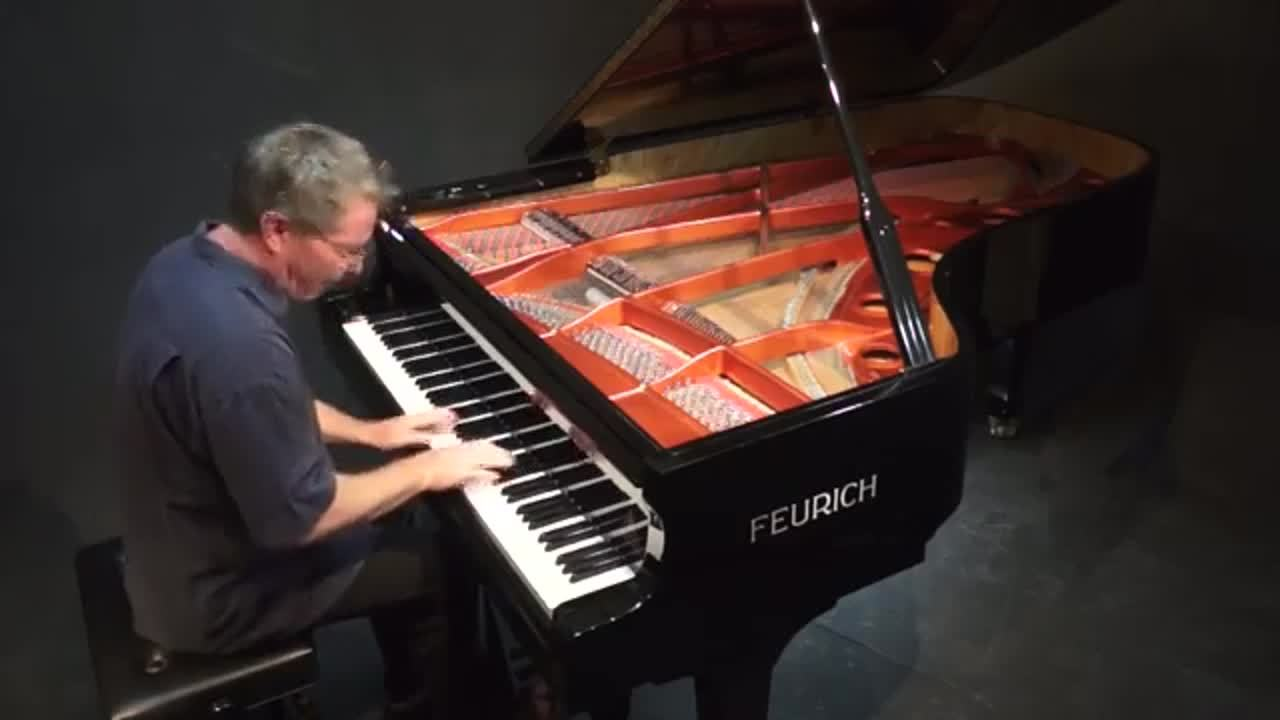 Chopin Polonaise in G minor Op. Posth. No.2 - P. Barton FEURICH piano