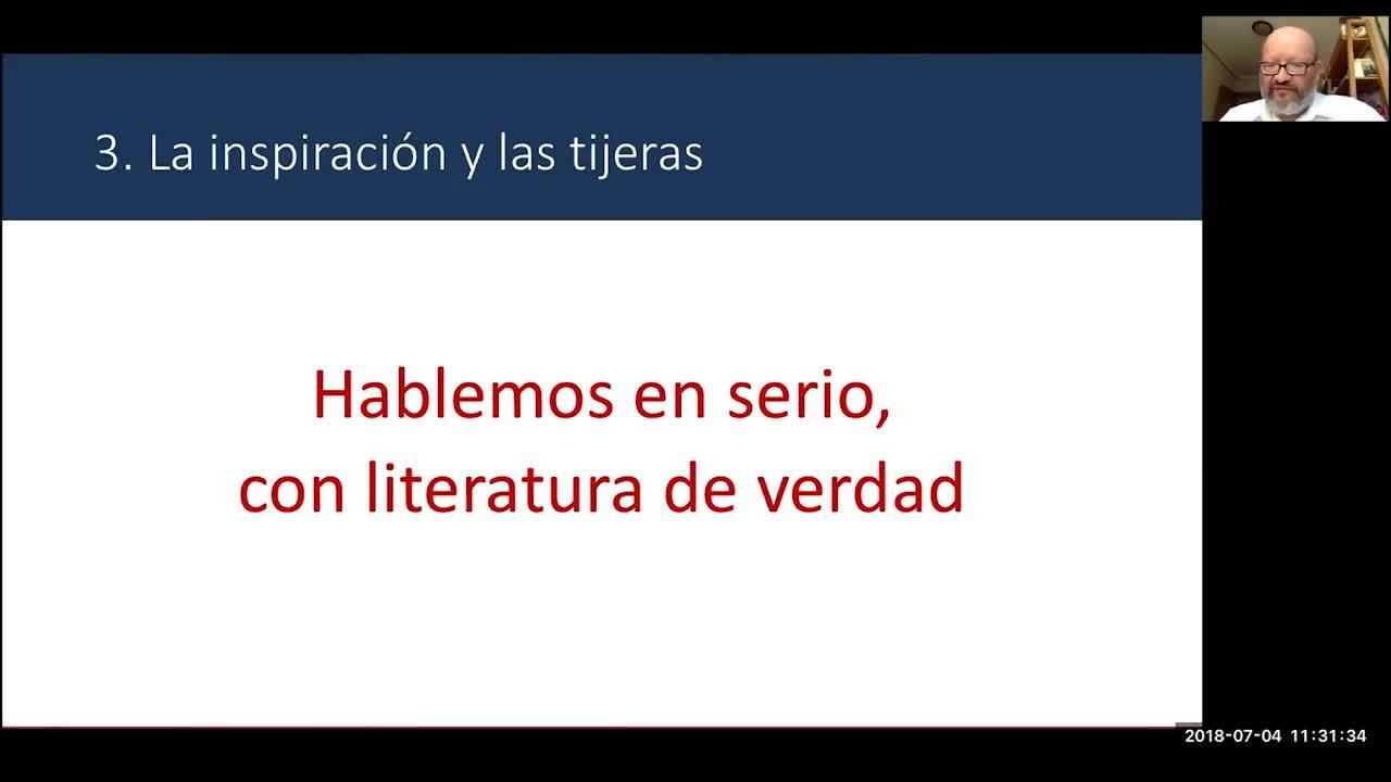 Webinar - Cómo enseñar a escribir literatura