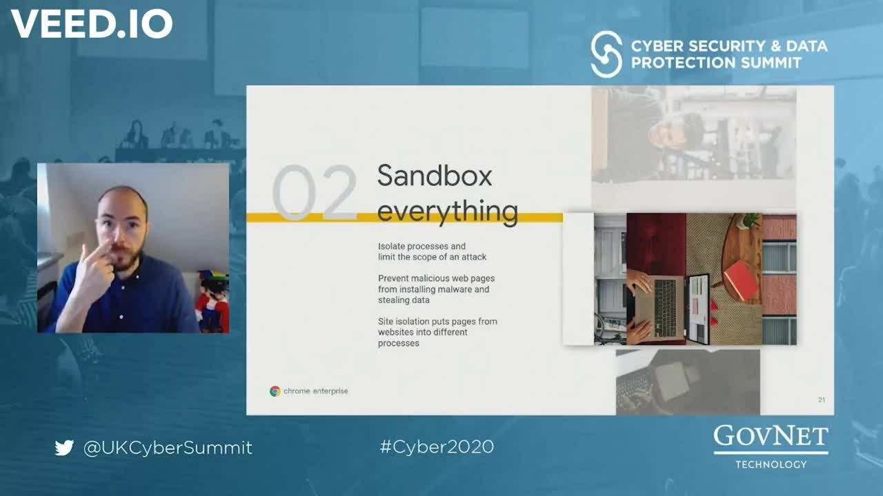 Cyber 2020 - Google - Sandbox Everything