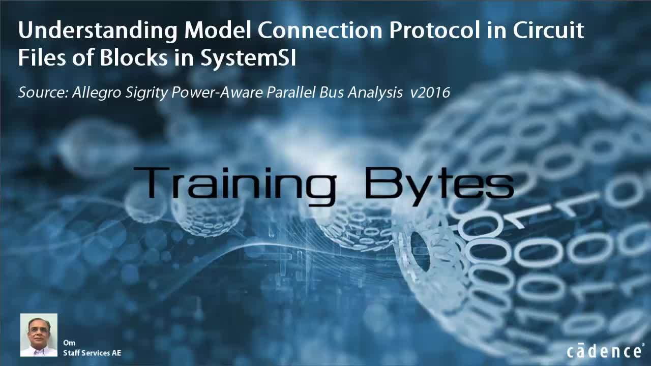 Understanding Model Connection Protocol in Circuit Files of Blocks in SystemSI
