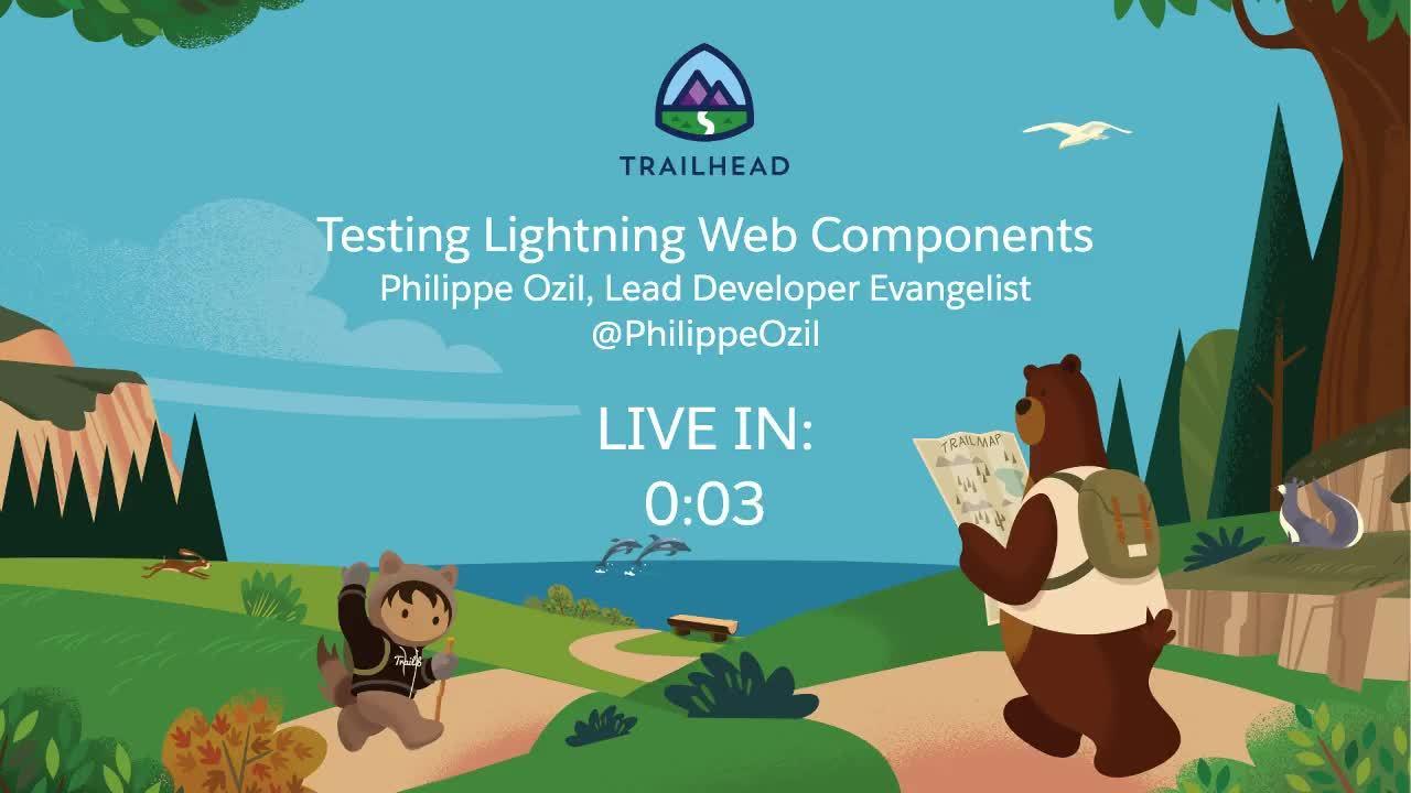 Testing Lightning Web Components