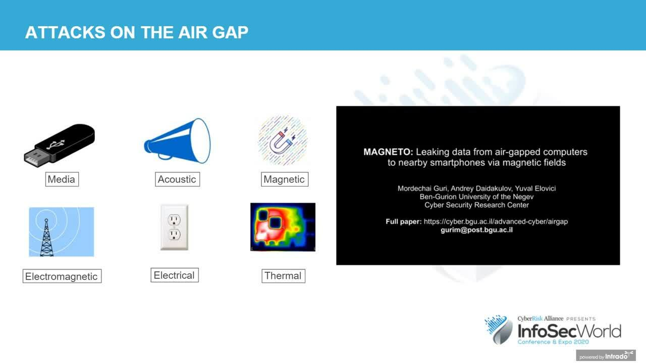 G9 Protect Your Data and the Air Gapped Network