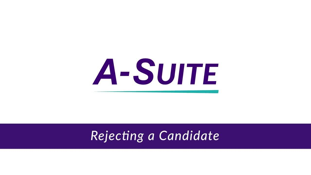 4.2_Rejecting a Candidate