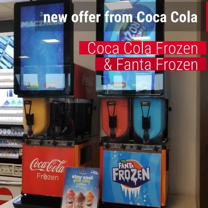 Frozen Cola & Fanta