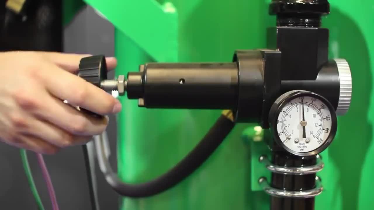 Adjusting Blast Pressure on the Dustless Blaster