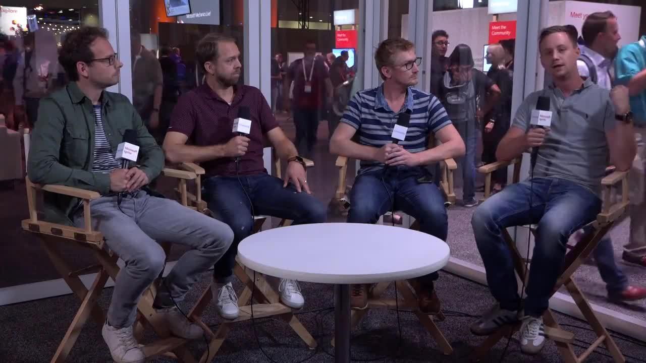 Microsoft Ignite 2018 reportage Portiva - dag 3