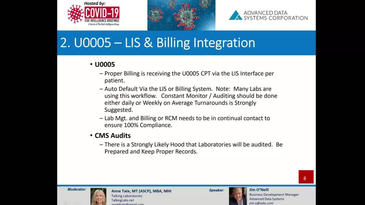 Whats New with Covid-19 Billing