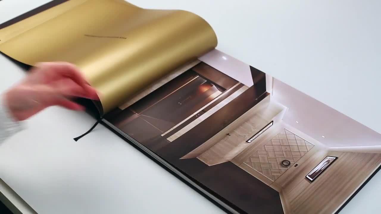 Книга формата А2 в развороте горизонтальный