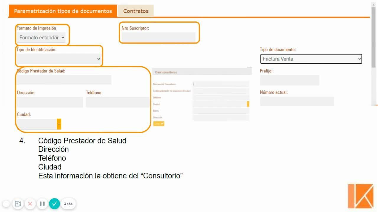 Configuración de Facturación - FACTURA DE VENTA