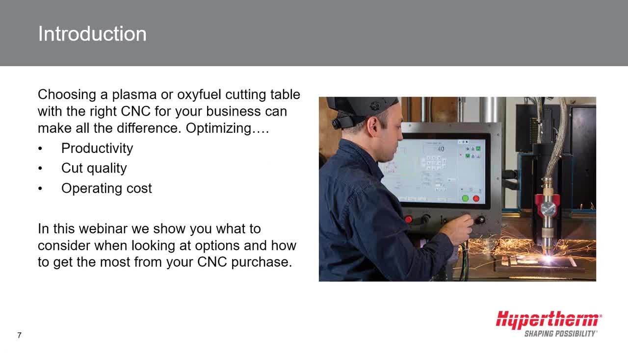 CNC 101 for plasma and oxyfuel cutting