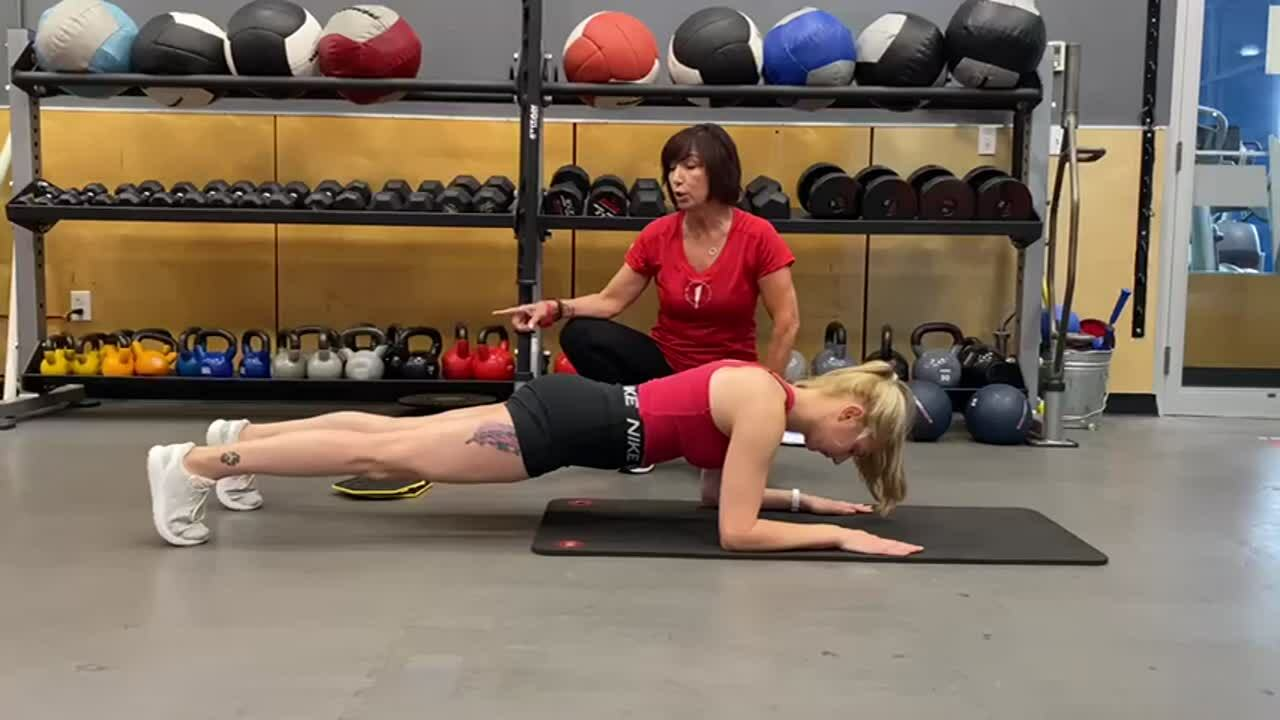 Body Saw Plank