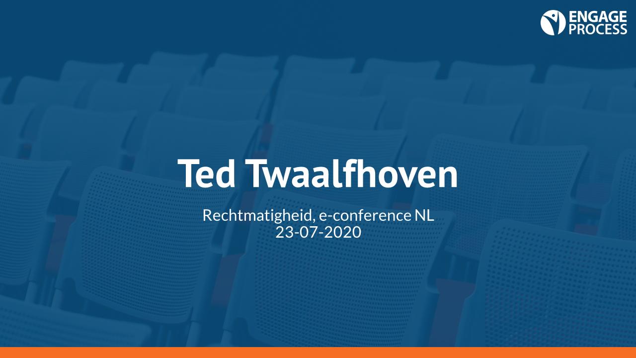 Rechtmatigheid Ted Twaalfhoven