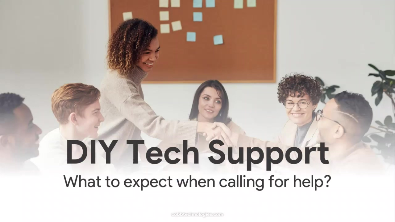Coffee with Cobb 7.9.2020 DIY Tech Support