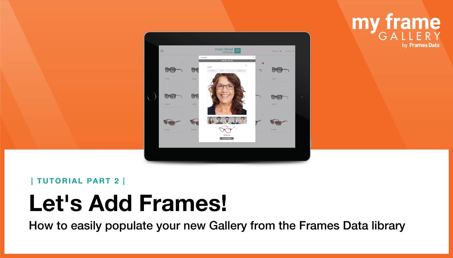 Part 2 add frames