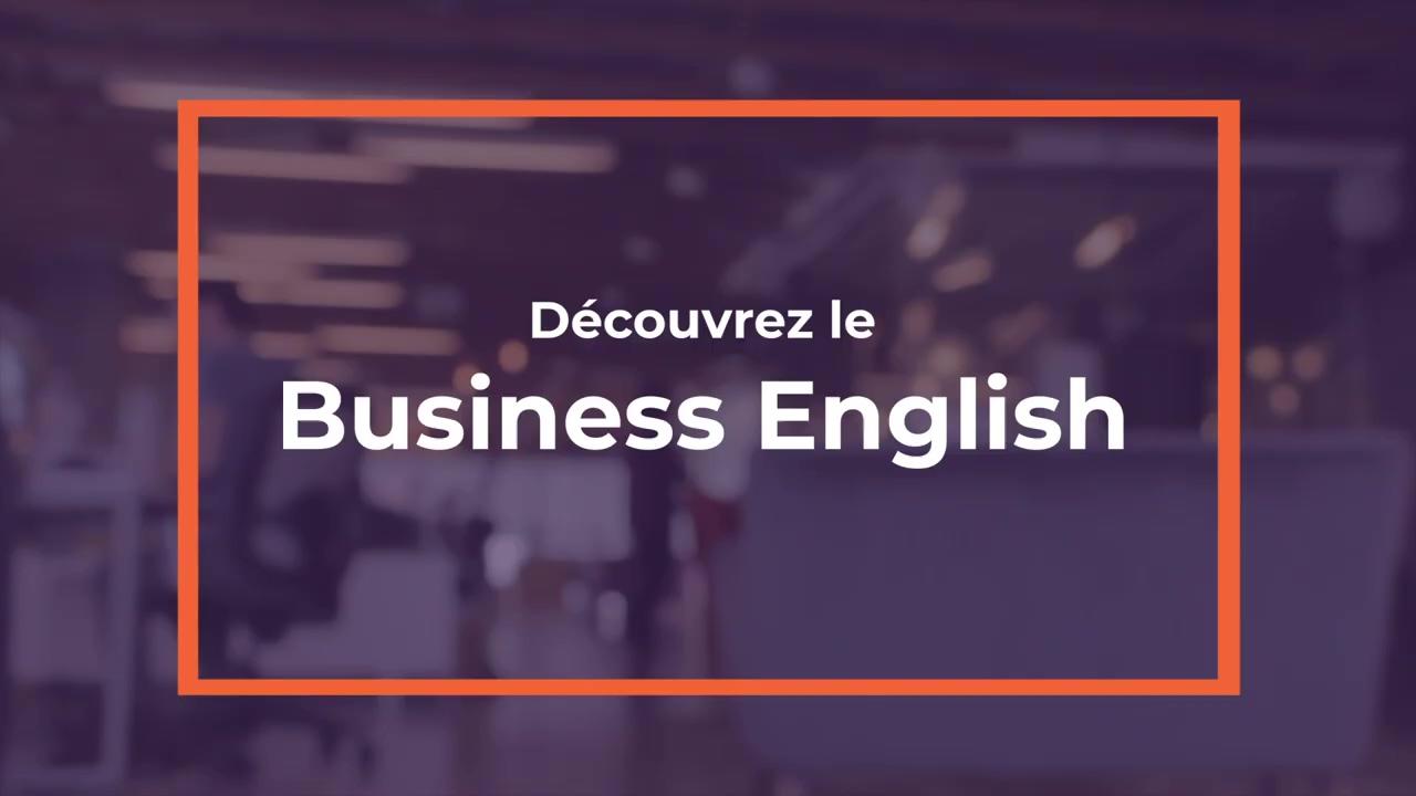 Decouvrez le Business English ! (1)