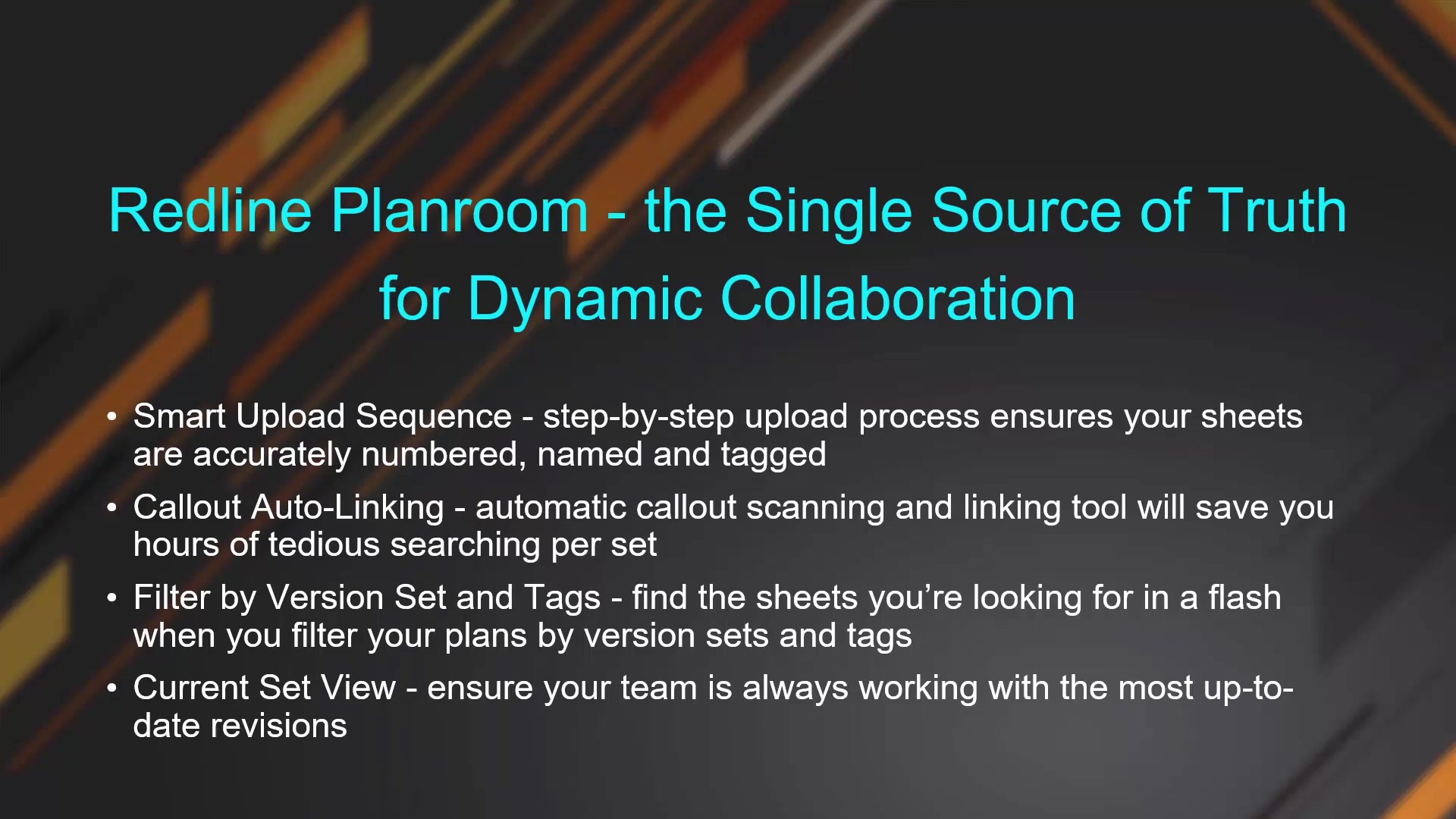 Redline Planroom - the Single Source of Truth for Dynamic Collaboration