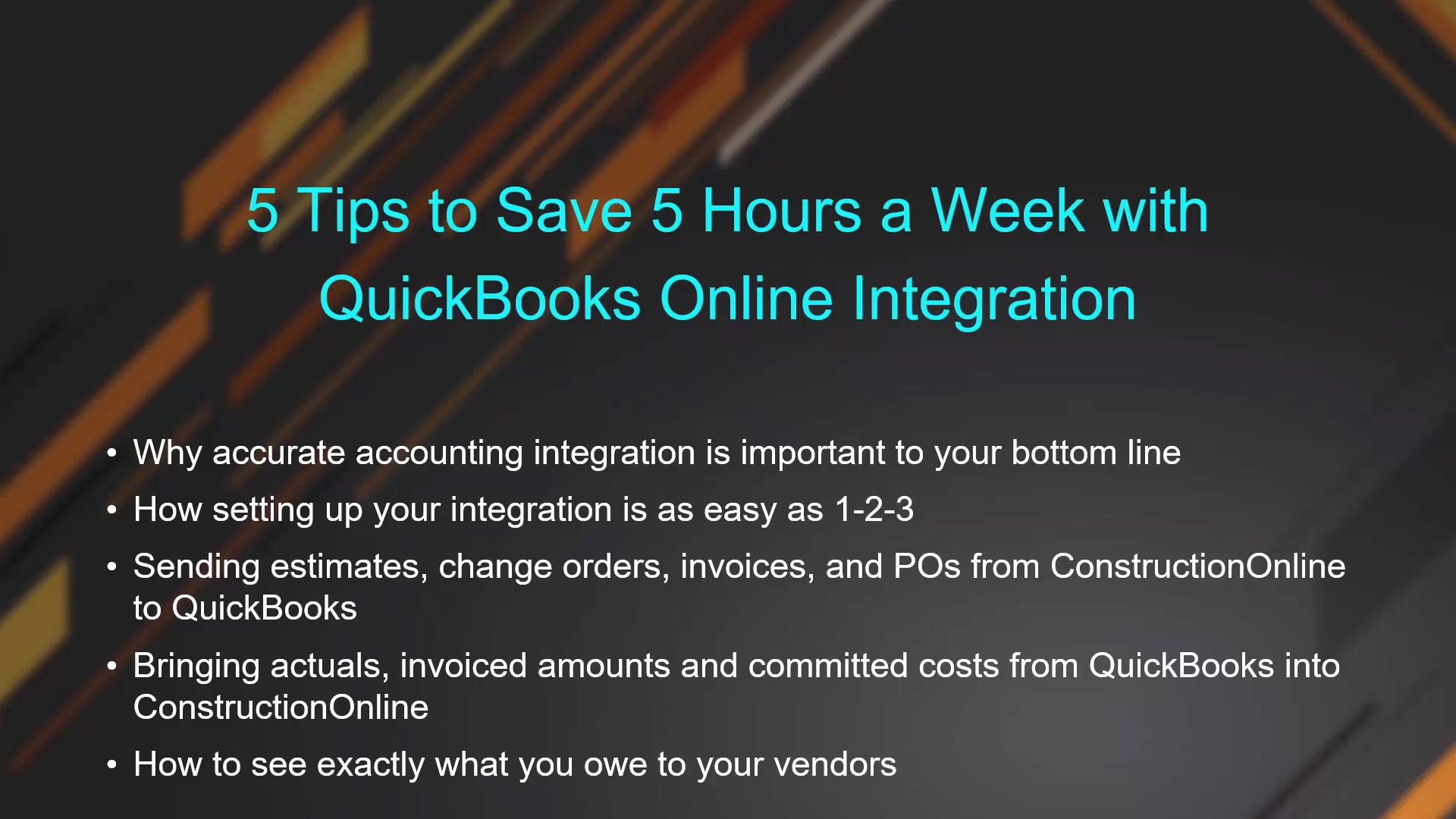 5 Tips to Save 5 Hours a Week with QuickBooks Online Integration_2