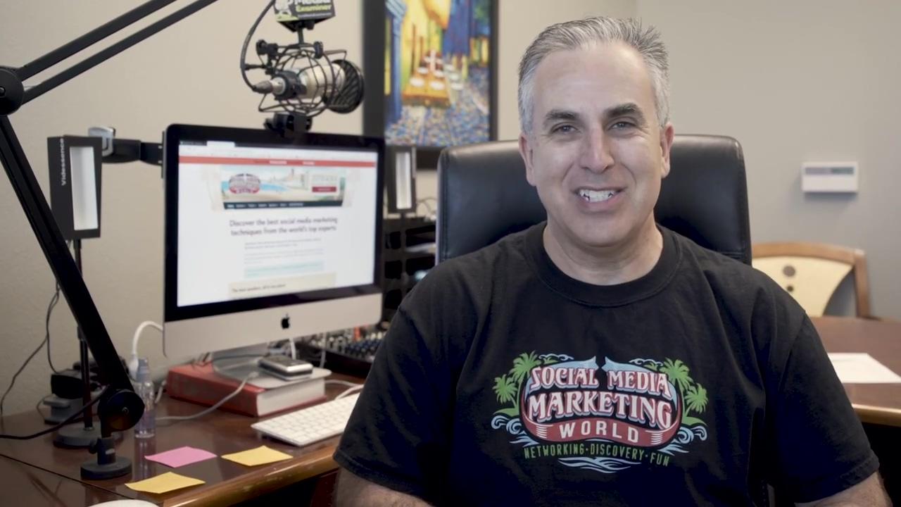 Michael Stelzner From Social Media Marketing Examiner & World