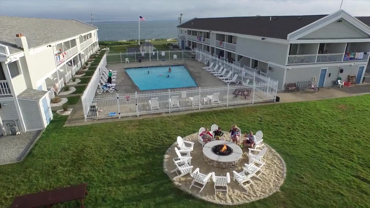SurfSide Resort Drone Aerial Video