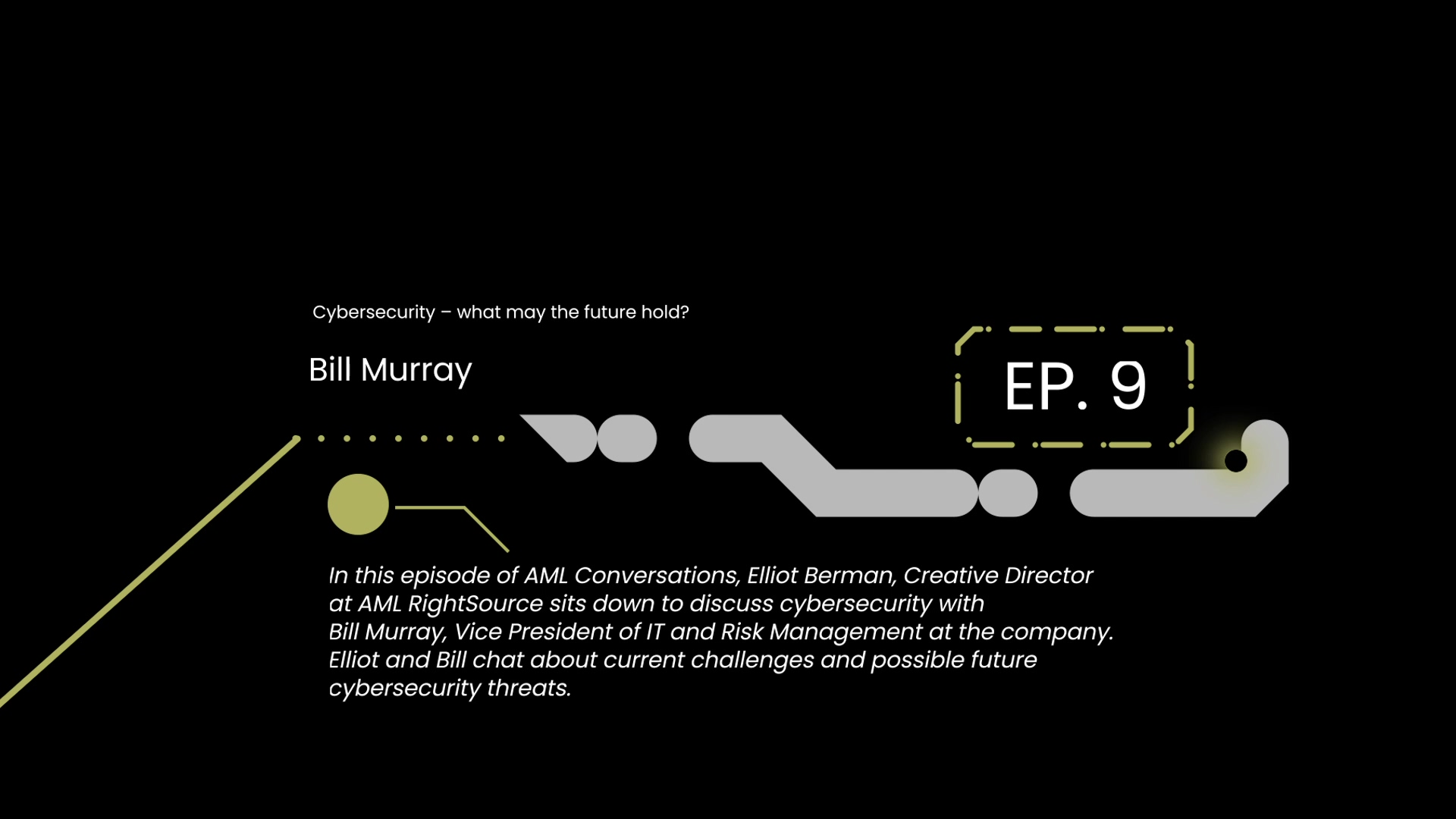 AML Conversations with Bill Murray - Cybersecurity