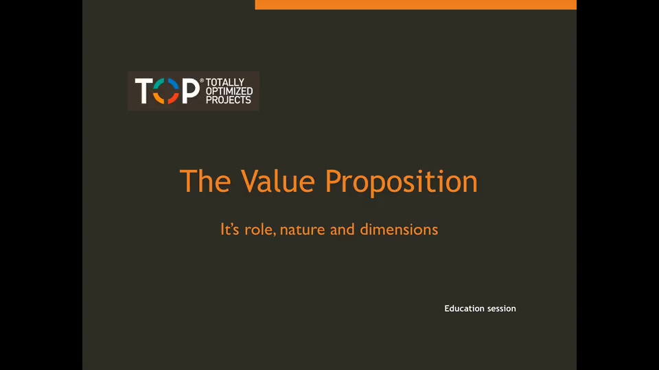 The Value Proposition