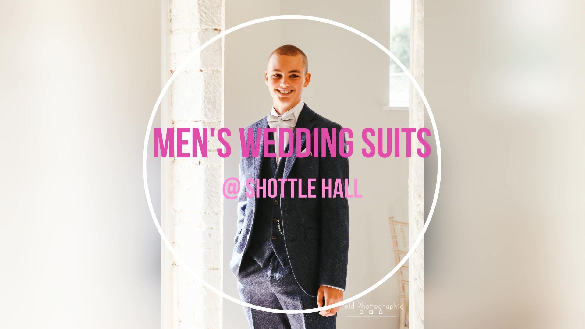 Mens Wedding Suits - Shottle Hall