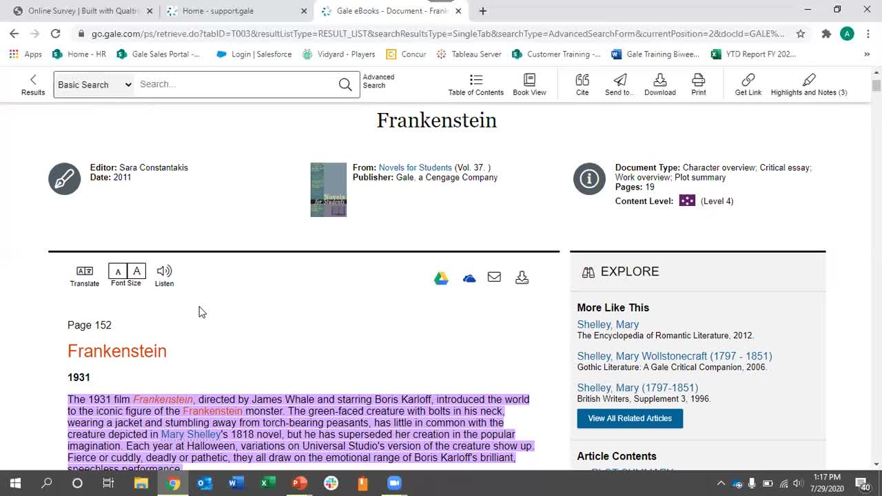 Strengthen Literary Studies with For Students on Gale eBooks Thumbnail