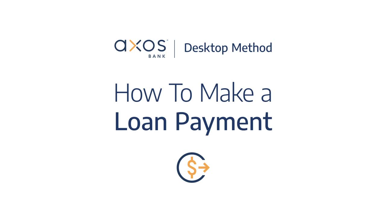 How to Make a Loan Payment