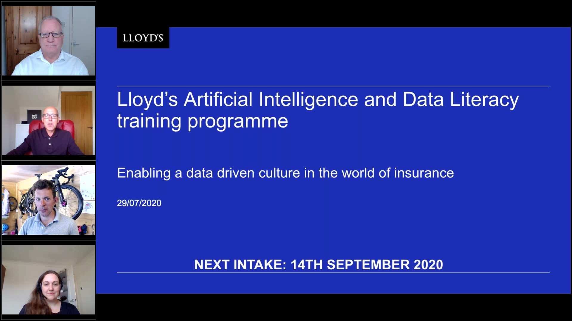 Lloyd's Data Science and AI for business CII accredited learning  – why you should enrol.
