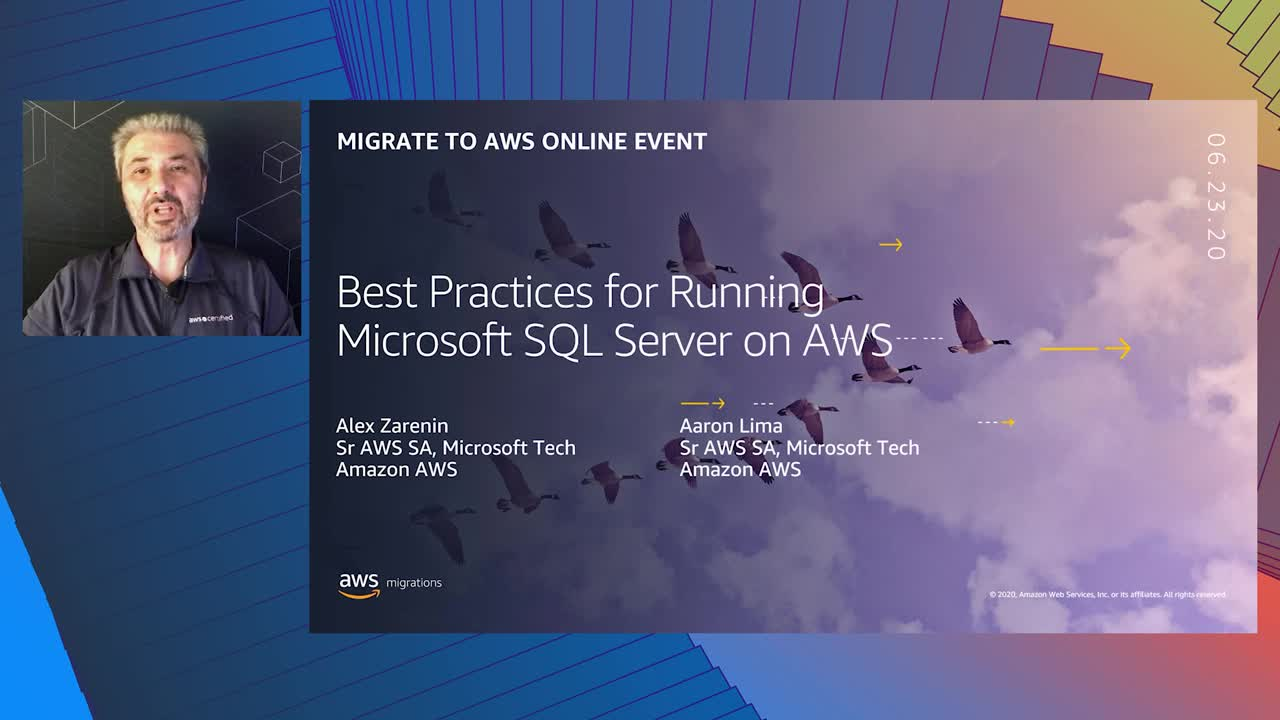 Best Practices for Running Microsoft SQL Server on AWS