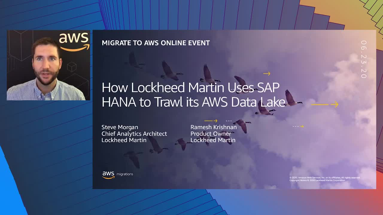 How Lockheed Martin Uses SAP HANA to Trawl its AWS Data Lake