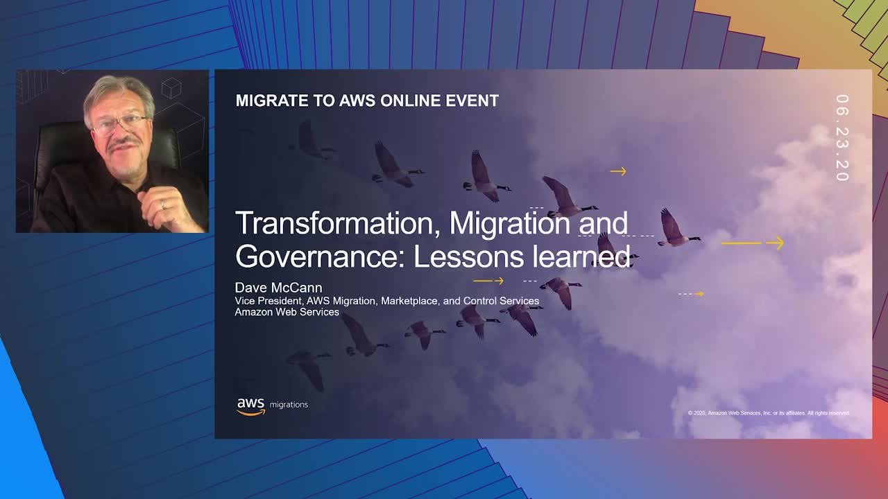 Keynote Transformation Migration and Governance Lessons Learned