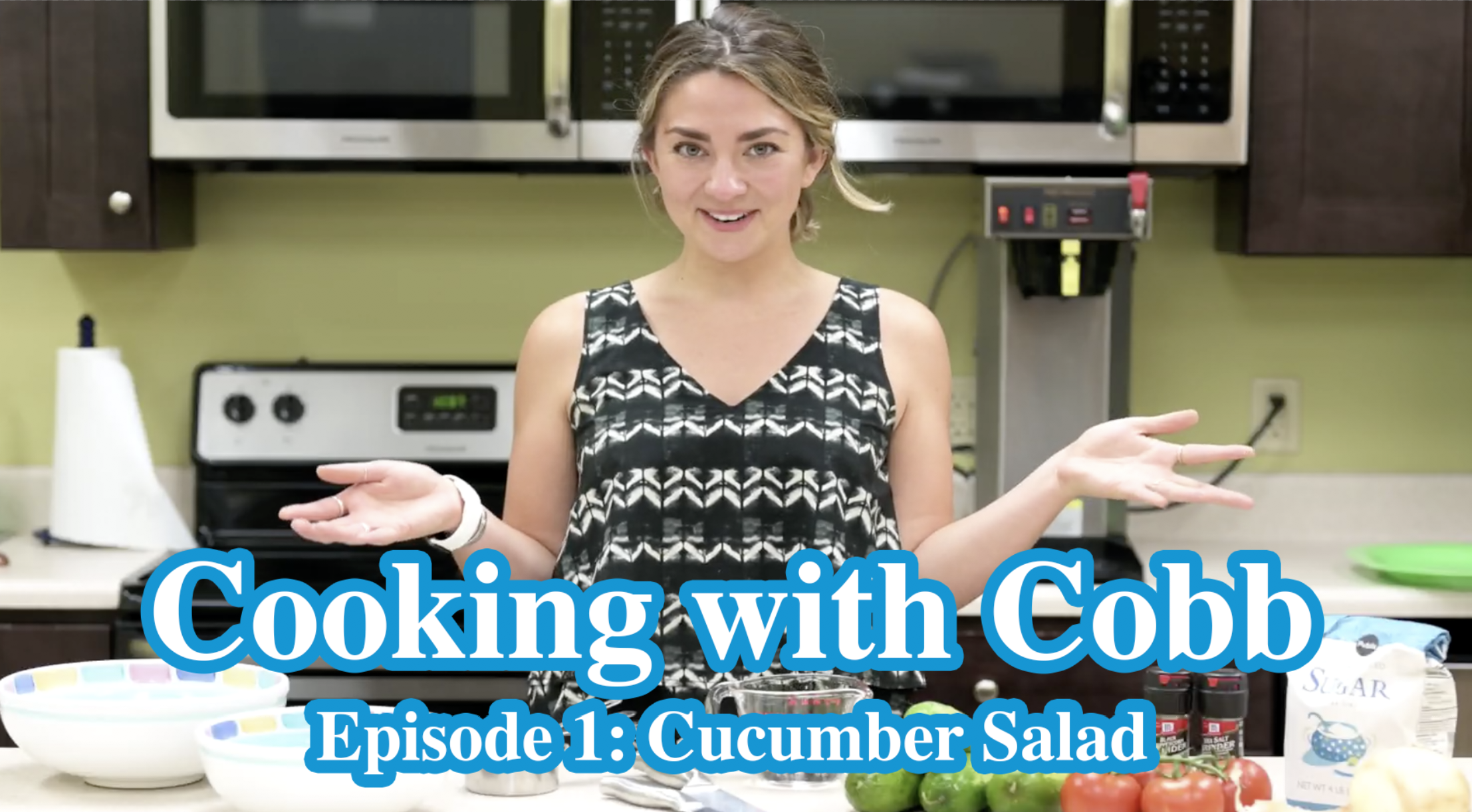 Cooking with Cobb - Episode 01