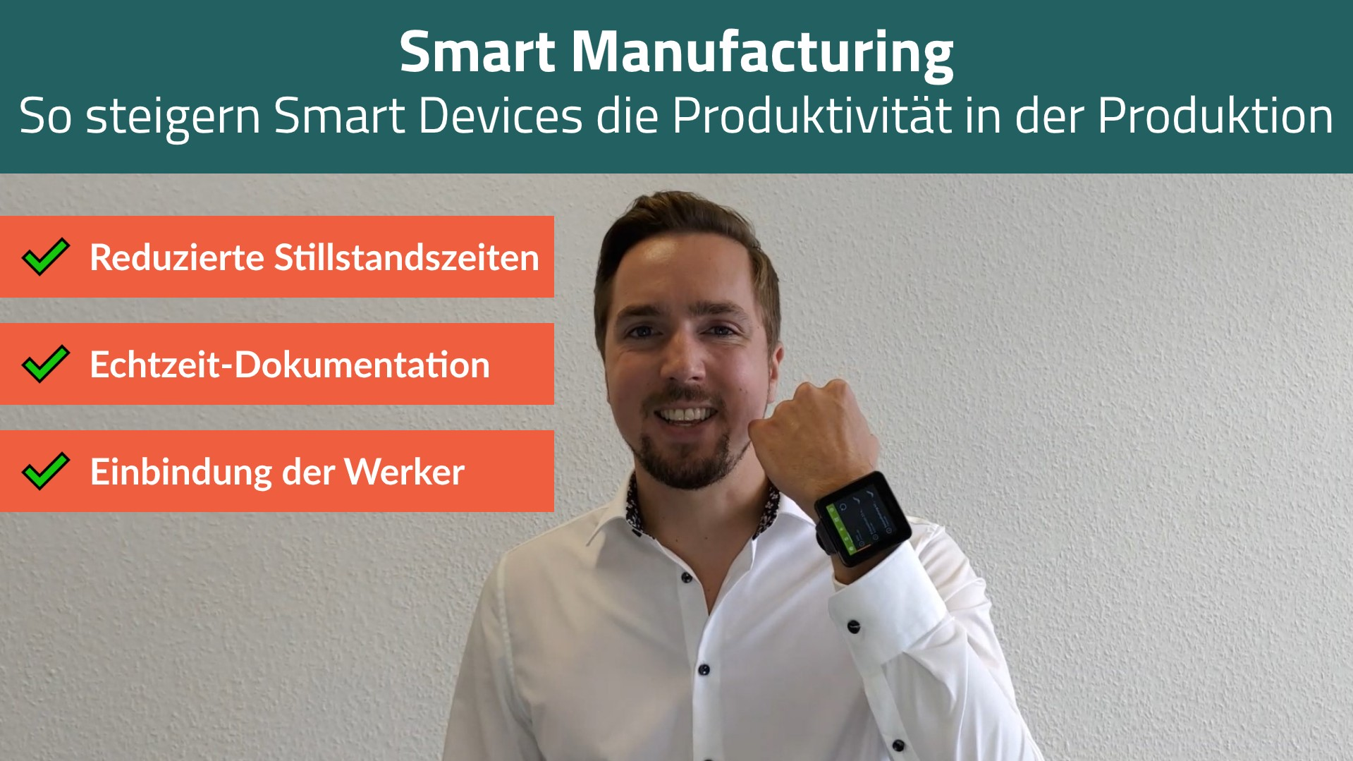 Smart Manufacturing webinar - intro video