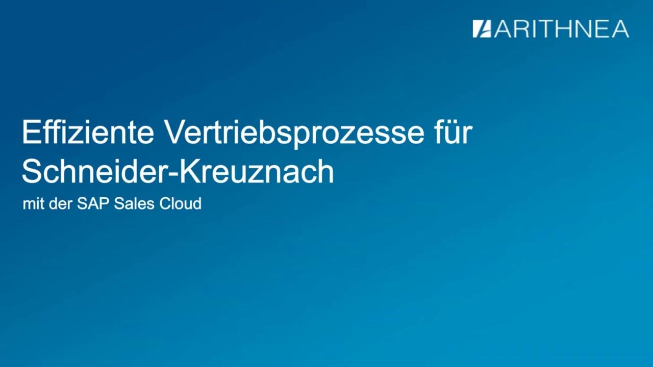 [WEBINAR] Effiziente Vertriebsprozesse fur Schneider-Kreuznach