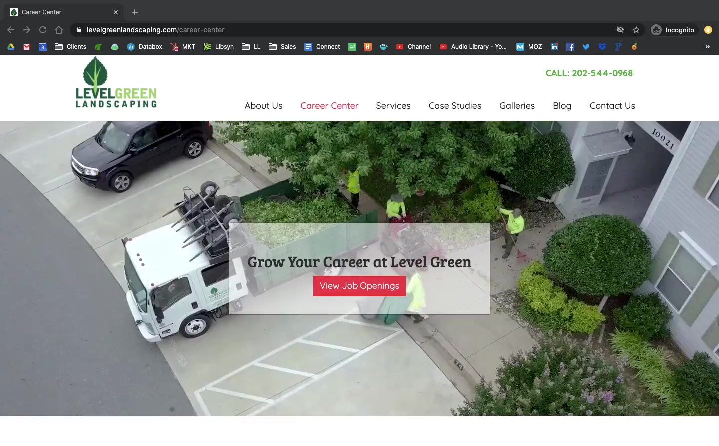 Level Green Landscaping Recruiting Video Loop
