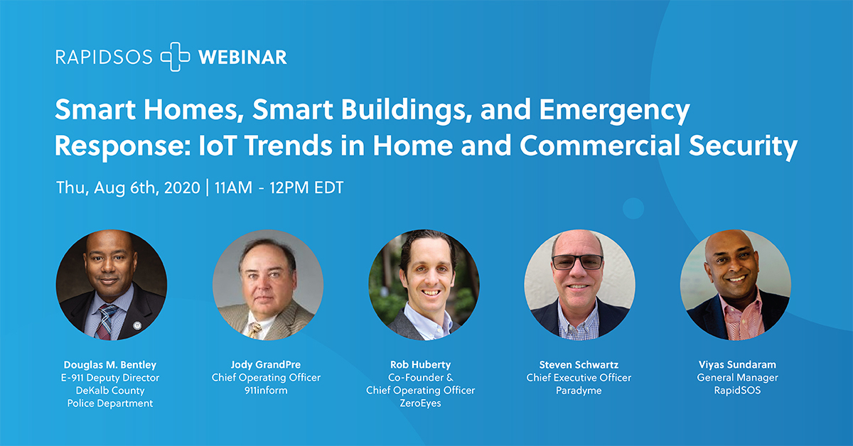 Smart Homes, Smart Buildings, and Emergency Response - IoT Trends in Home and Commercial Security