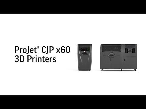 Impression ColorJetPrinting(CJP) 3DSystems Vidyard