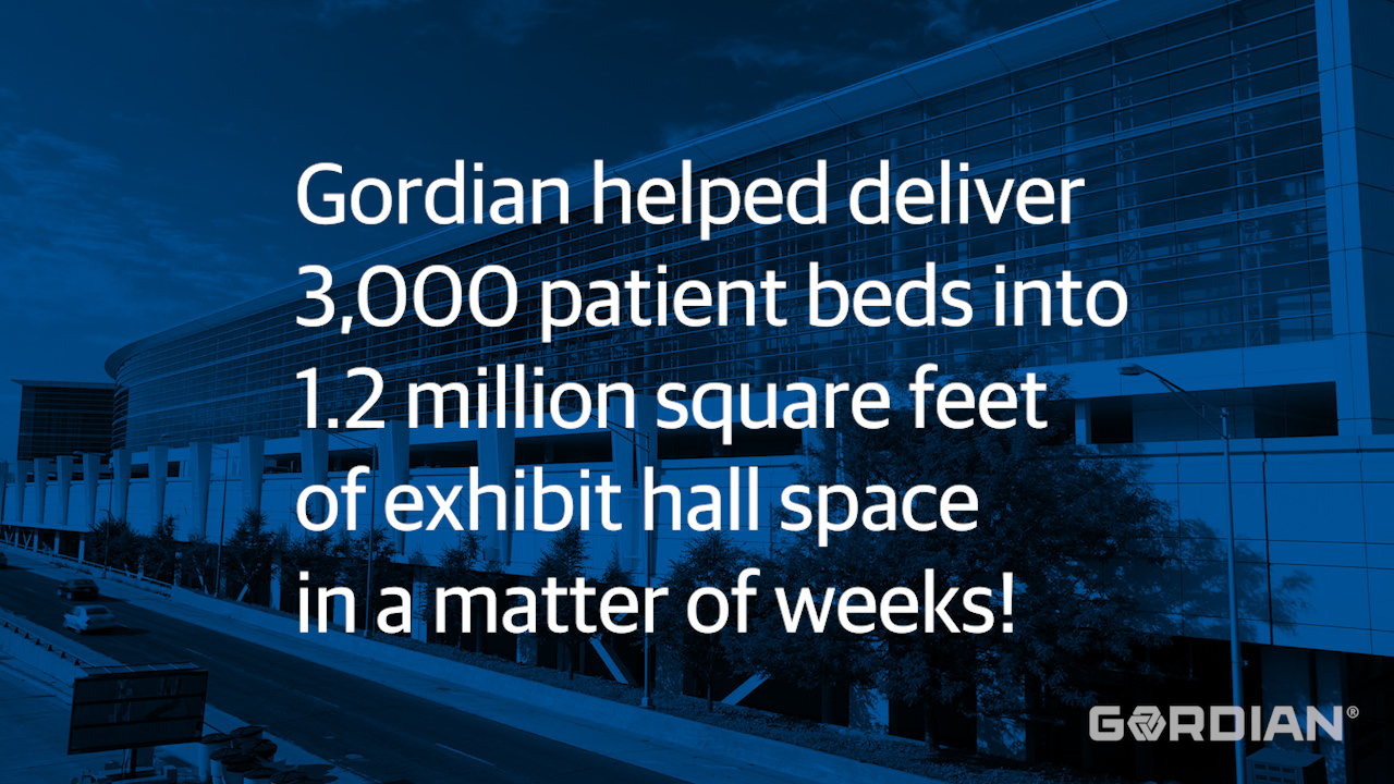 Gordian Helps Ready McCormick Place for COVID-19 Response